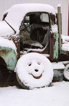 Winter Smiley Face