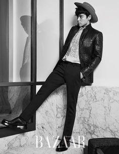 TOP (Choi Seung Hyun) ♕ #BIGBANG // Harper's Bazaar Magazine September Issue '14
