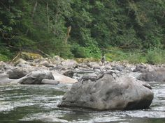 North Fork of the Snoqualmie River in Washington.
