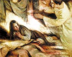 Mary Is Visited By The Angel Gabriel