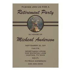 Shop Funny Animal Hunter Retirement Celebration Invitation created by fishing_hunting_tees. Personalize it with photos & text or purchase as is! Retirement Celebration, Retirement Parties, Early Retirement, Retirement Planning, Great Smoky Mountains, Retirement Announcement, Retirement Party Invitations, How To Treat Acne, Invitation Design