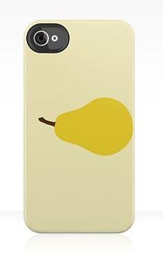 'Pear' - Custom designed iPhone Case
