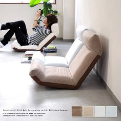 Rakuten: / floor chair / Lycra inning / personal chair / chair / living / Shin pull made in legless chair relaxation chair Japan- Shopping Japanese products from Japan