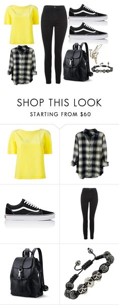 """30"" by thisisalle on Polyvore featuring Alberta Ferretti, Rails, Vans and Topshop"