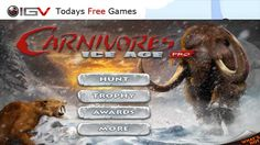 Carnivores: Ice Age Pro Free iPhone Game Of The Day (september 26 - 2012 )| Today's Free Games | iPhone iPod Touch iPad Game News, Review and Updates