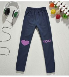 Aliexpress.com : Buy New Arrival Hot Korea Style Free Shipping Girls Spring/Autumn Tights LOVE YOU Long Pants Skinny Leggings K0188 from Reliable Girls Spring/Autumn Tights suppliers on SICIBAY - Kids' Clothing:Selling for Donating,$11.9