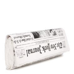 Kate Spade The Journal Newspaper Clutch. I WANT IT SO BADLY. $125