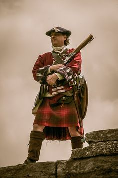 The Historic Saltire Society at Dundonald Castle, Scotland.