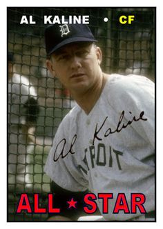1967 Topps Al Kaline All Star, Detroit Tigers, Baseball Cards That Never Were