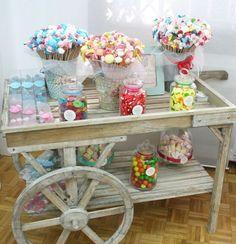 mesa dulce niños comuniones