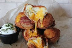 Mashed Potato Bacon Bombs | Savory Style