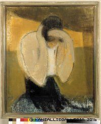 View The Gipsy Woman By Helene Schjerfbeck; Painting: oil on canvas; Access more artwork lots and estimated & realized auction prices on MutualArt. Helene Schjerfbeck, Helsinki, Gipsy Woman, Portrait Art, Portraits, Female Painters, Montage Photo, Illustration Art, Illustrations
