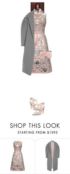 """""""Jenelle Eva #7679"""" by canlui ❤ liked on Polyvore featuring Dolce&Gabbana, Mother of Pearl, Chanel, Valentino, monochrome, oversized, coat, coats and oversizedcoats"""