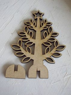mini wooden christmas tree - by bySageDesign on madeit