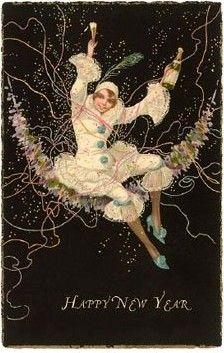 166 Best ~ A VINTAGE HAPPY NEW YEAR~ images | Vintage cards, Vintage ...
