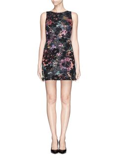 ALICE + OLIVIA - 'Whela' shift dress | Multi-colour Cocktail Dresses | Womenswear | Lane Crawford - Shop Designer Brands Online
