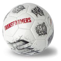 """Zum spannenden Actionabenteuer """"Transformers 4: Ära des Untergangs"""" kommt hier der Ball für Fans. Er ist ca. 150 Gramm schwer, hat einen Durchmesser von rund 15 Zentimetern, besteht aus pflegeleichtem Kunststoff und entspricht damit einem Handball der Größe 0. Der Ball springt gut, ist durch seine solide Verarbeitung äußerst stabil und bei Druckverlust aufpumpbar. Außen zieren ihn sowohl der Schriftzug TRANSFORMERS als auch das Autobots-Logo. Ideal für Spiel und Sport, zu Hause oder in der…"""