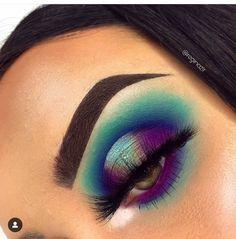 Makeup Is Life, Makeup Eye Looks, Beautiful Eye Makeup, Eye Makeup Art, Makeup Goals, Eyeshadow Makeup, Makeup Inspo, Eyeliner, Younique Eyeshadow