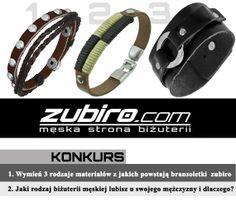 #Konkurs - Wygraj bransoletkę od Zubiro! Szczegóły konkursu http://www.eksmagazyn.pl/moda/dodatki/wygraj-bizuterie-od-zubiro/    #bizuteria #bransoletka #bransoleta