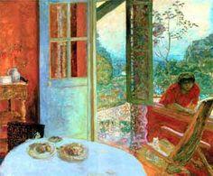 La vie et quelques oeuvres de Pierre Bonnard...