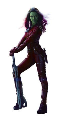 Gamora (Guardians of The Galaxy) Halloween Costume
