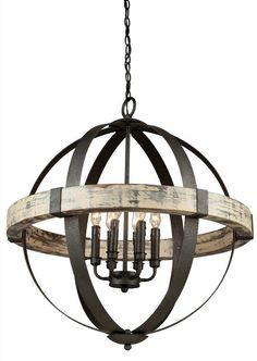 Buy the Artcraft Lighting AC10016 Aspen Wood / Black Direct. Shop for the Artcraft Lighting AC10016 Aspen Wood / Black Castello 6 Light Wood Globe Chandelier - 27 Inches Wide and save.