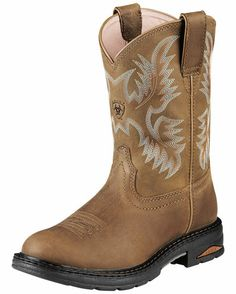 Women's Tracey Pull-On Boot - Dusted Brown