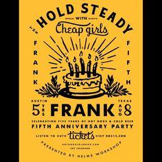 Frank 5th Anniversary