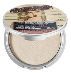 The Balm Mary-lou Manizer Highlighter--SUPER pigmented and beautiful champagne color. Best highlighter in the world. Nothing compares to it.