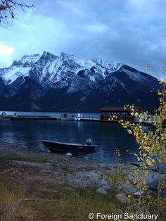 Early Morning in the Rocky Mountains - Banff, Canada -----> OMG…I'm Writing a Book: The Events That Started It All [http://foreignsanctuary.com/2014/10/24/omg-im-writing-a-book-the-events-that-started-it-all/]