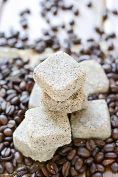 Coffee Scrub Cubes DIY