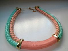 Rope necklace by Mayra                                                                                                                                                      More