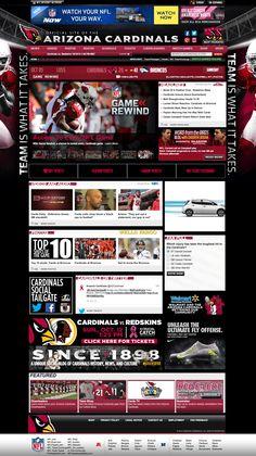 NFL Look Book from @seancallanan - Arizona Cardinals #ArizonaCardinals #sportsbiz #digisport