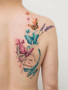 42 Charming Butterfly Tattoo Designs and Meanings for Girls - HomeLoveIn - 42 Charming Butterfly Tattoo Designs and Meanings for Girls butterfly tattoos, animal tattoo ideas, - Tribal Tattoos, Trendy Tattoos, Cute Tattoos, Beautiful Tattoos, Body Art Tattoos, Small Tattoos, Sleeve Tattoos, Tatoos, Butterfly Tattoos Images