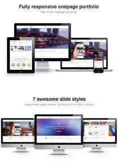 Responsive One Page WordPress Theme – Millennium