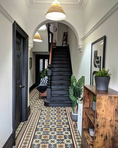 House Inspo, House Inspiration, House Styles, House Design, Staircase Design, Future House, House Interior, House Goals, Home Deco
