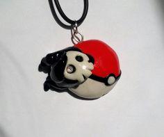 Duskull Pokemon Pendant by squidhop on Etsy