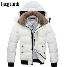 Thick Warm Men Winter Coat 2015 Hot Fashion Jacket Down Coat Men Parka Outdoor Wear High Quality Plus Size Black White MWM001|c1b9d65f-8c7a-4179-954e-91b171170150|Parkas