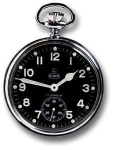 Cabot Watch Company British millitary pocket watch