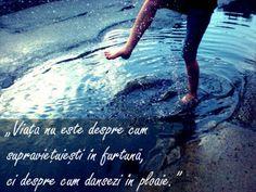 dancing in the rain. Model: Lyxai dancing in the rain Swing Dancing, Dancing In The Rain, Dance Quote Tattoos, Irish Dance Quotes, Dance Moms Funny, Funny Quotes, Funny Memes, Country Dance, Little Girl Dancing