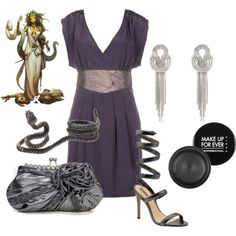 """Channeling Medusa"" by tinadhiggins on Polyvore"