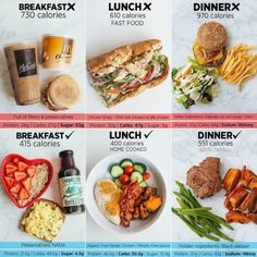 Healthy Living: Healthy Lifestyle: Healthy Meals: Healthy Recipes: Healthy Weight: Healthy for Kids: Healthy Snacks: Healthy Meal Prep, Healthy Breakfast Recipes, Healthy Drinks, Healthy Snacks, Healthy Recipes, Eating Healthy, 400 Calorie Breakfast, Healthy Fast Food Options, Fitness Meal Prep