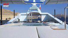 "Yacht Benetti ""Ocean Paradise"" au Monaco Yacht Show 2013 avec Maxiboat tv  #girasolevolution #yachtingline #multivalvola #soltis www.yachtingline.it"