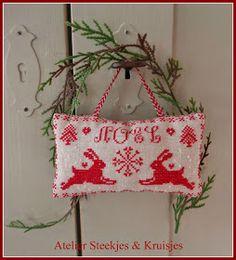 Stitches & Crosses Marijke: Busy Christmas