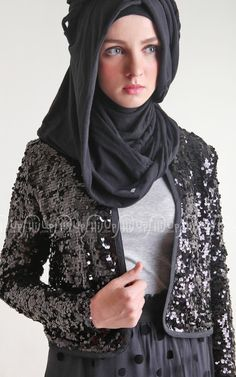 Glam with Sequin Jacket collection from Rumod. Only on www.hijup.com