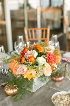#centerpiece  Photography: Stacey Hedman Photography - staceyhedman.com Planning, Styling + Floral Design: lovely little details - lovelylittledetails.com  Read More: http://www.stylemepretty.com/2013/01/28/cape-cod-wedding-from-lovely-little-details/