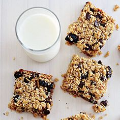 Chewy Oat Squares try a change up in the dried fruit I love peaches blueberries and pecan or cranberries, pineapple and pistachios