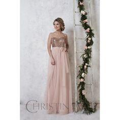 Christina Wu Bridesmaid Dress 22725