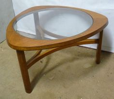 1960s G Plan astro teak coffee table Nathan GPlan Ercol etc