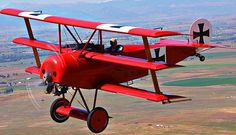 FOKKER DR1 of the red baron